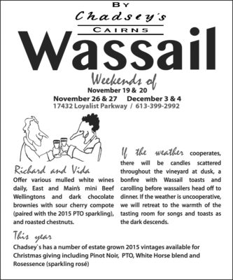 The Canes are buried. Bring on Wassail (starting Nov. 18)